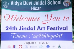 24th Jindal Art Festival Opening Ceremony (7 Aug 2017)