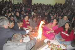 Birth Anniversary Poojan of Late Vidya Devi Ji - February 2018