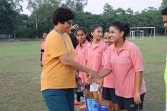 Football Match Staff vs Students