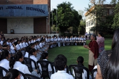 Principal Interaction with New Students