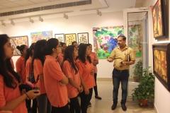 Visit to AIFAC Art Gallery